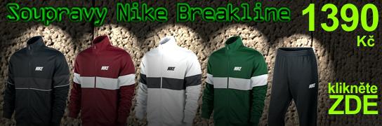 Banner - Soupravy Nike Breakline